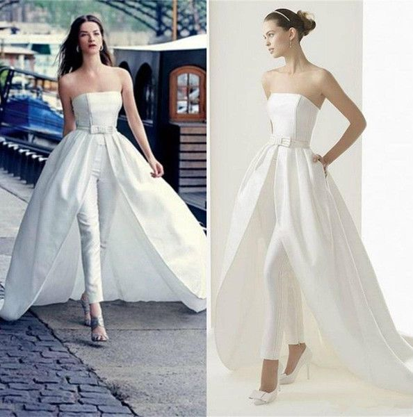 32+ Bridal jumpsuit with train ideas information