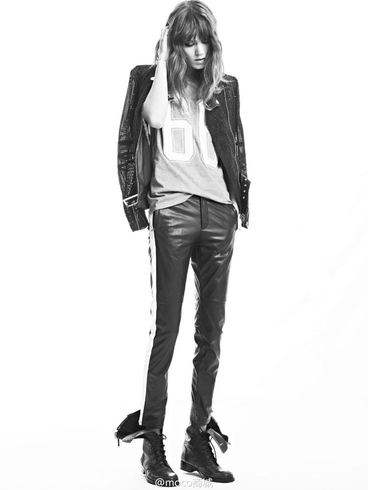 freja beha moco campaign2 Freja Beha Erichsen Returns for MO&Co. Spring/Summer 2014 Campaign