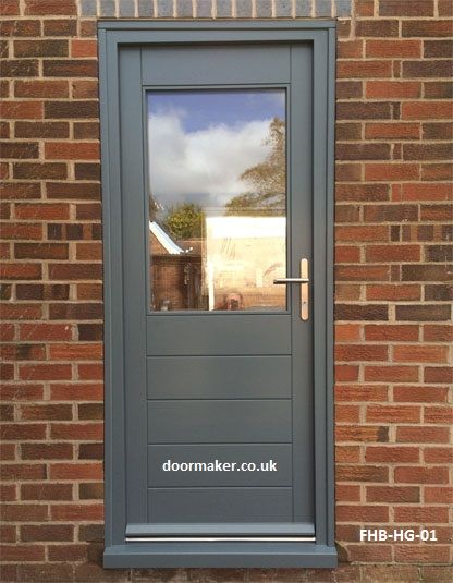 contemporary doors, modern front doors made to measure from oak and other hardwoods