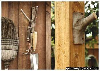 Идеи для дачи и сада. Использование старых деревьев и остатков пиломатериалов для поделок на даче