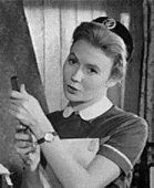 The Juliet Mills Gallery  All scans come from the 1963 comedy 'Nurse on Wheels'. Juliet plays Joanna Jones, a new District Nurse in a small rural community inhabited by all the usual stereotypes. Their initial hostility is soon overcome as Joanna earns the respect of  the inbred locals etc. etc. etc.