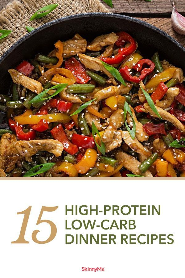 15 High Protein Low Carb Dinner Recipes Protein Dinner Recipes Low Carb Dinner Recipes High Protein Recipes Dinner