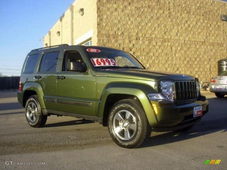 jeep liberty green Google Search