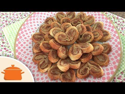 Palmier (biscoito folhado orelha de macaco)