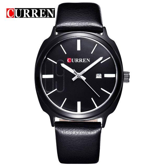 Top Men Watches Calendar Luxury Men's Sports Quartz Wristwatches Men Watches