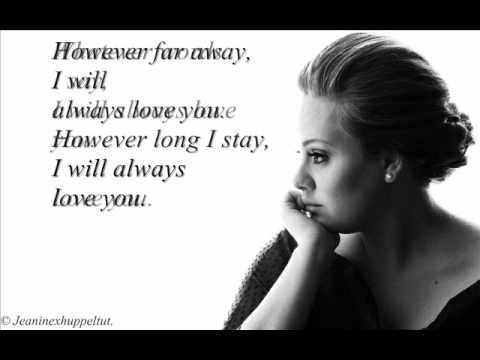 This song is for Harry and Rita. May your love be forever Lovesong - Adele (Official 2011 Song) - YouTube