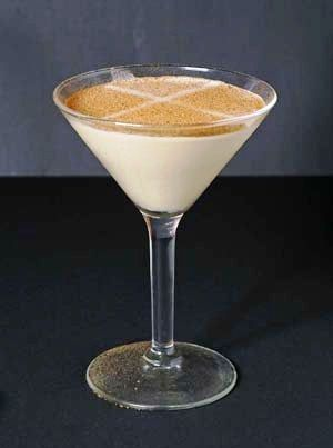 Luscious Brandy Alexander cocktail