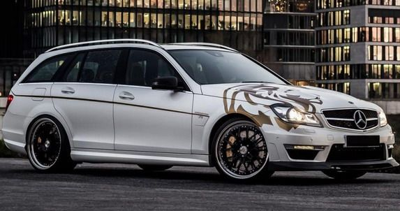 Loewenstein Manufaktur Mercedes C63 AMG Estate