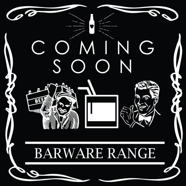Where Man Cave's, Home Bars and Home Brewers Unite! Launching Soon - Exclusive Barware Range.   PF x