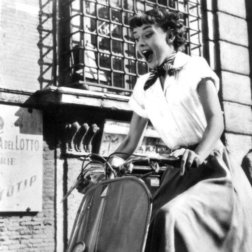 "Audrey Hepburn as Princess Ann in ""Roman Holiday"" (1953)"