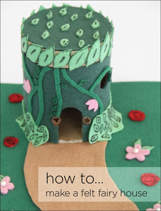 how to make felt fairies