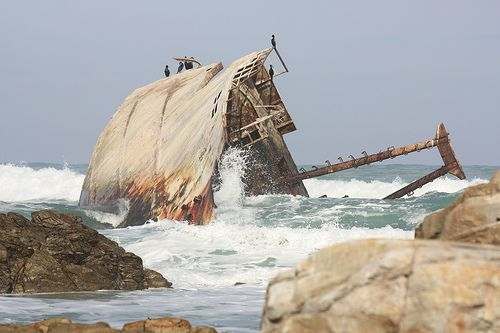 Wild Coast Region, South Africa | The Jacaranda Shipwreck | Flickr - Photo Sharing!