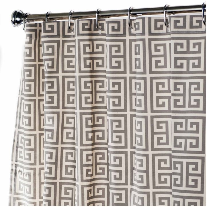 Extra Long Shower Curtains Geometric Comes In Various Lengths Prices From 10500