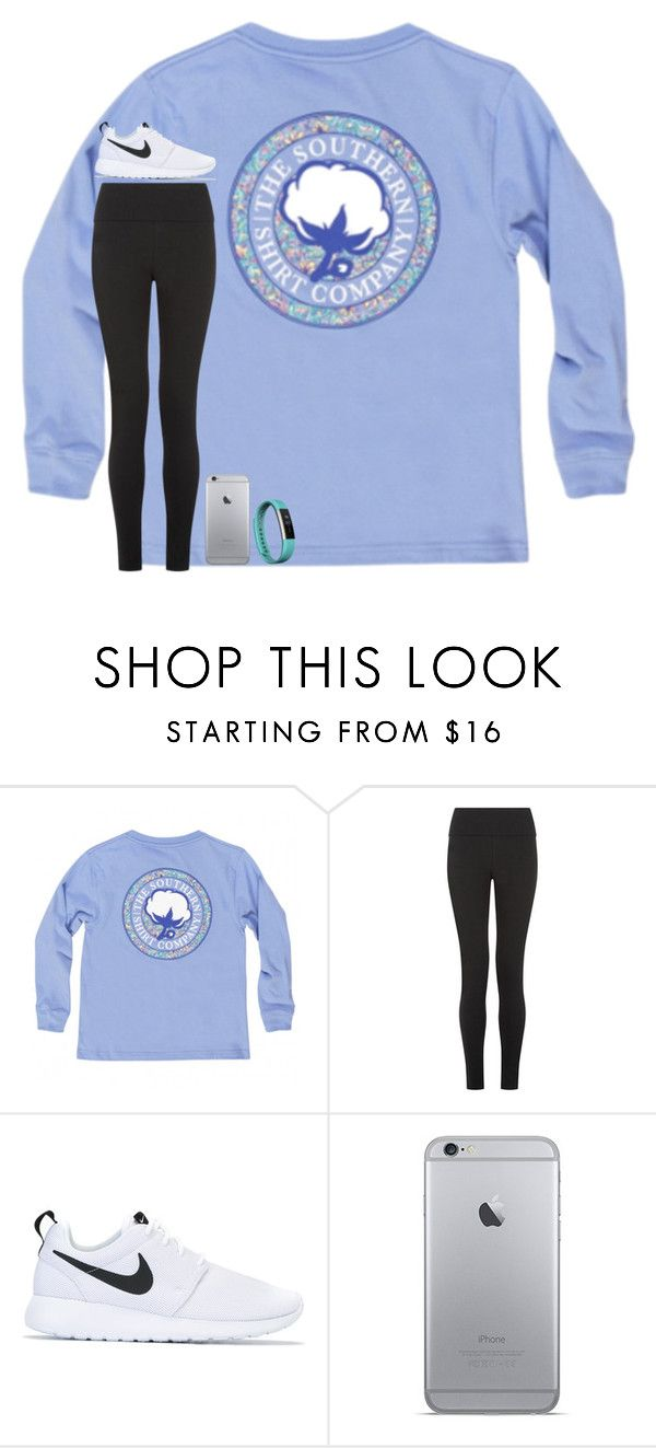 """simple"" by taylorvel ❤ liked on Polyvore featuring NIKE and Fitbit"