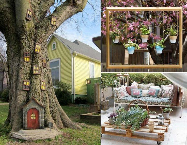 Décor De Jardin à Faire Soi Même 25 Idées Pas Chères