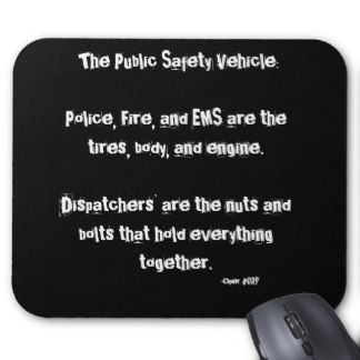 911 Dispatcher Humor Comm Center | Dispatcher (Mouse Pad) Hold It Together