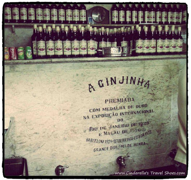 A Gin Jinha - typical Portuguese liqueur