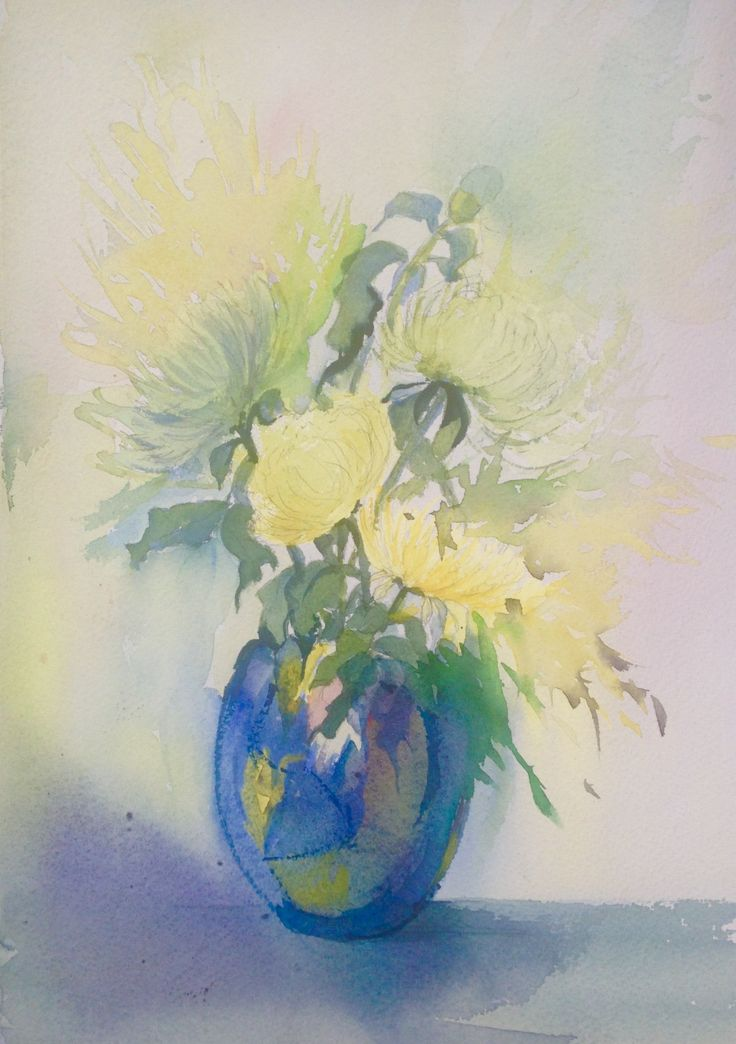 Still life watercolour