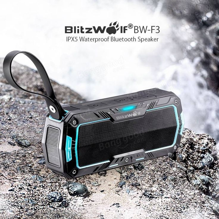 Only US$29.99, buy best BlitzWolf® BW-F3 IPX5 Water-resistant 2*5W Outdoor Sport Bluetooth Speaker sale online store at wholesale price.US/EU warehouse.