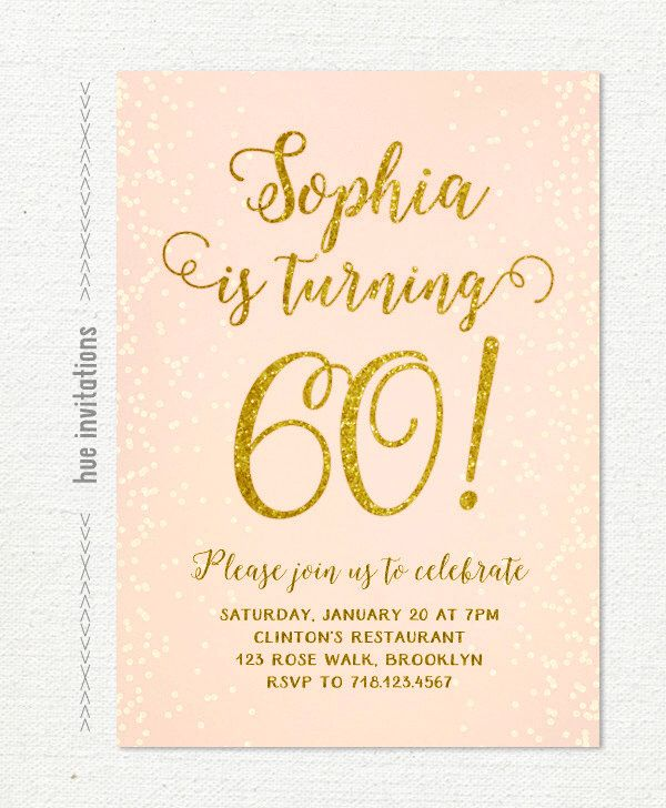 17 Best images about 60th Bday – 60th Birthday Invitations Australia