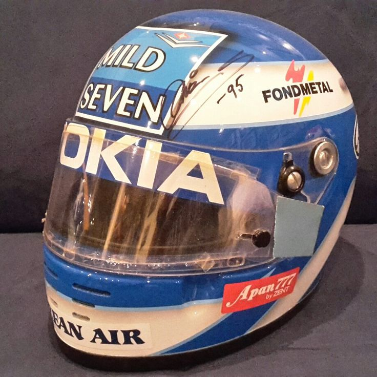 F1 replica helmet Mika Salo