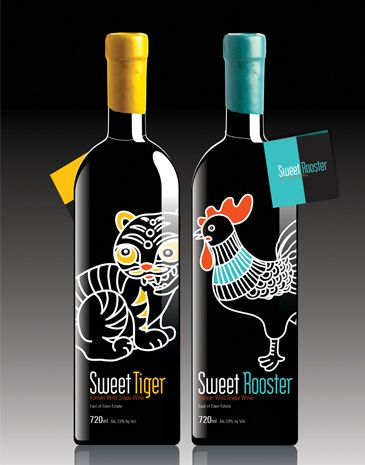 Especially for you maximum by taninotanino ® vino / wine. the cutest #wine #packaging by Heegyum Kim at Coroflot.com PD