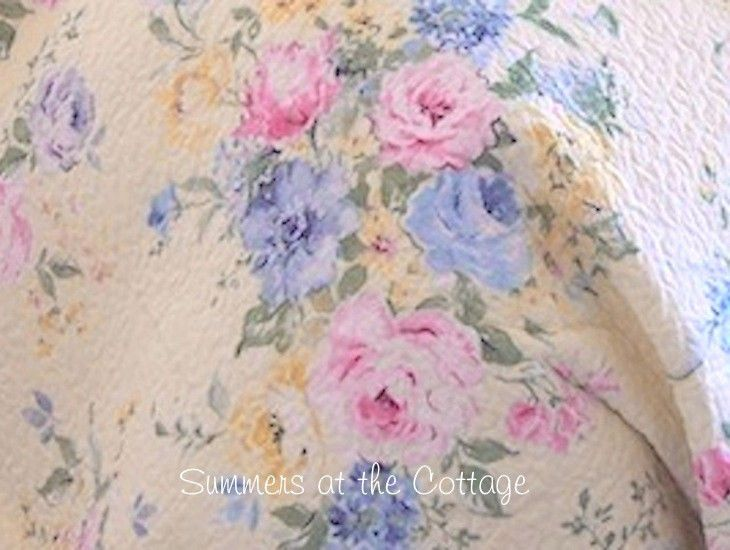COTTAGE COLLECTION CHIC SUMMER YELLOW PINK ROSES BLUE SHABBY FLOWERS PILLOW  SHAM. 29 best new yellow   white shabby chic bedroom images on Pinterest