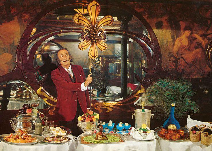 O surreal livro de receitas de Salvador Dalí é relançado
