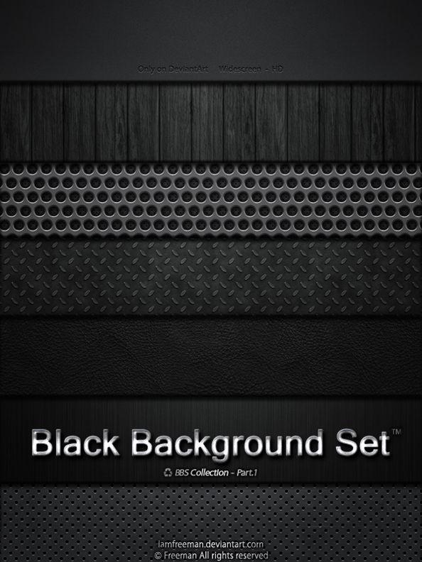 Black Background Set by iAmFreeman 2560x1600 해상도를 가진 7가지의 블랙 백그라운드 세트로서 대단한 퀄리티를 가졌습니다.