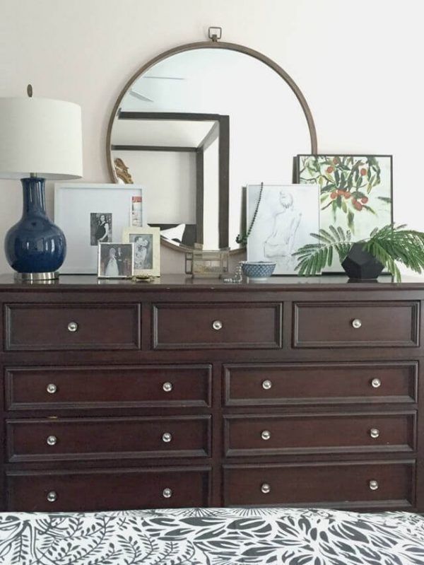 5 Steps to a Beautiful Bedroom Design | Dresser top decor ...