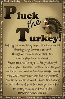 I LOVE this site.  Now she's got fun Thanksgiving games and ideas to make.  Free templates and PDF's.