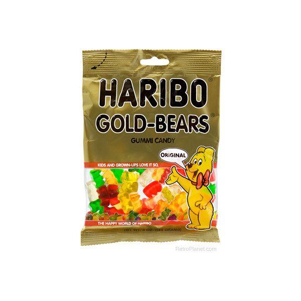 Haribo Gummy Bears 5 Oz. (€1,82) Liked On Polyvore