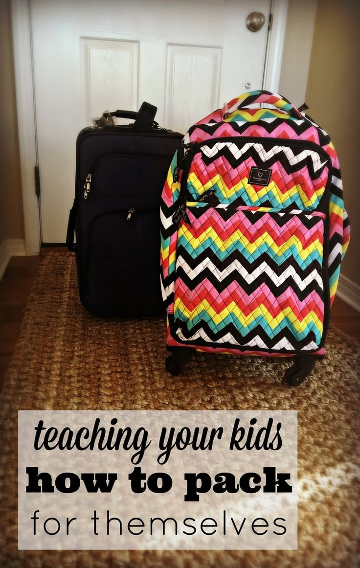 Trying to get a big family out the door and on vacation? Use our FREE PRINTABLE and dwindle that pre-vacation-to-do list down by teaching your kids how to pack their own bags. radfamilytravel.com