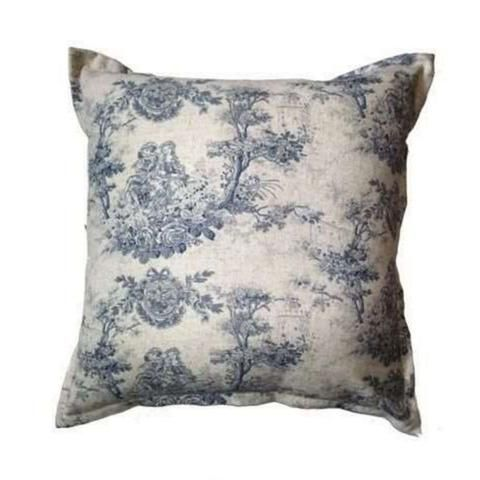Toile - Blue Scatter Cushion