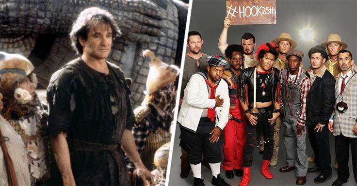 Aunque no lo creas ya pasaron 25 años desde que se estrenó la película Hook: El regreso del Capitán Garfio. Los Niños Perdidos crecieron y lucen irreconocibles