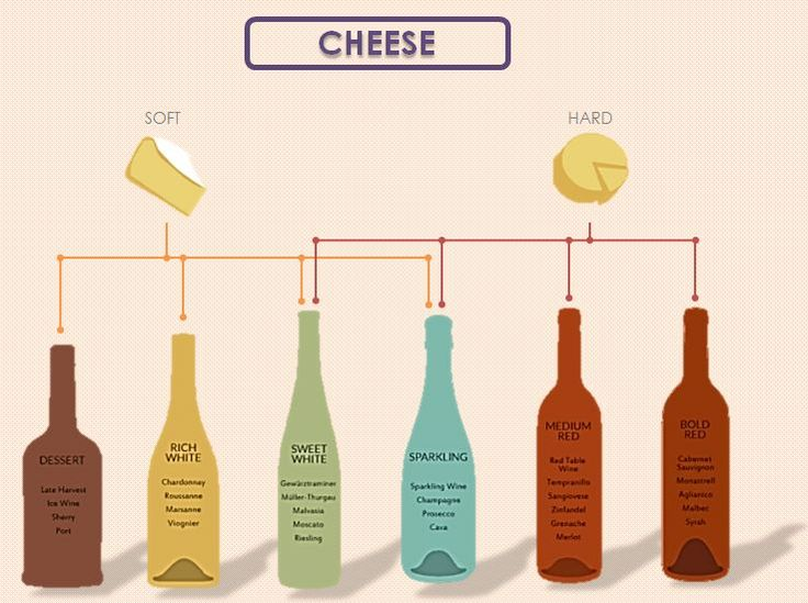 How To Pair Wines Properly With This Simple Info-Graphic
