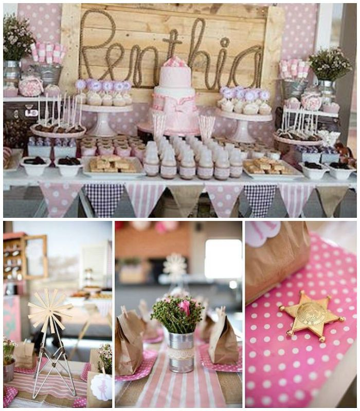 Pink Vintage Cowgirl Birthday Party Via Karau0027s Party Ideas | The Place For  All Things PARTY