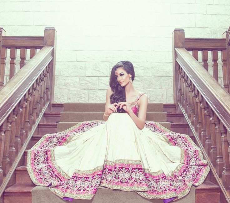 Indian wedding photography. Bridal photoshoot ideas. Her dress is breathtaking!