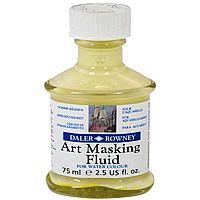 Daler Rowney Art Masking Fluid Maskeleme Solüsyonu, 75ml, 15 tl, Güven Sanat