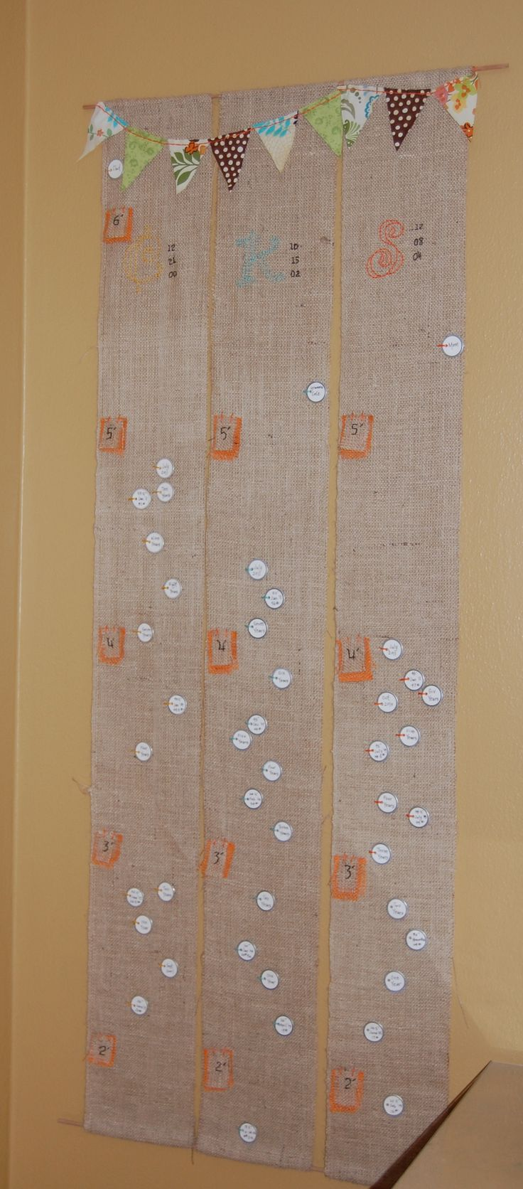65 best growth chart ideas images on pinterest growth charts diy portable growth chart a little sugar nvjuhfo Images