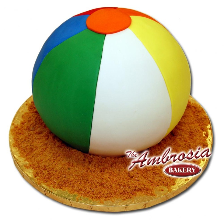 Beach Ball Cake Images