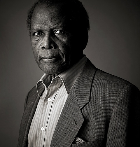 Sidney Poitier: one of my favourite actors. Him and James Stewart