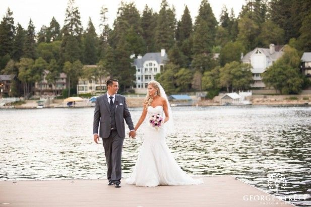 For a woodsy wedding just outside of Los Angeles, there's no better place than Lake Arrowhead Resort and Spa!