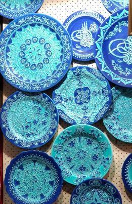 Blue Turkish Ceramics                                                                                                                                                                                 Más