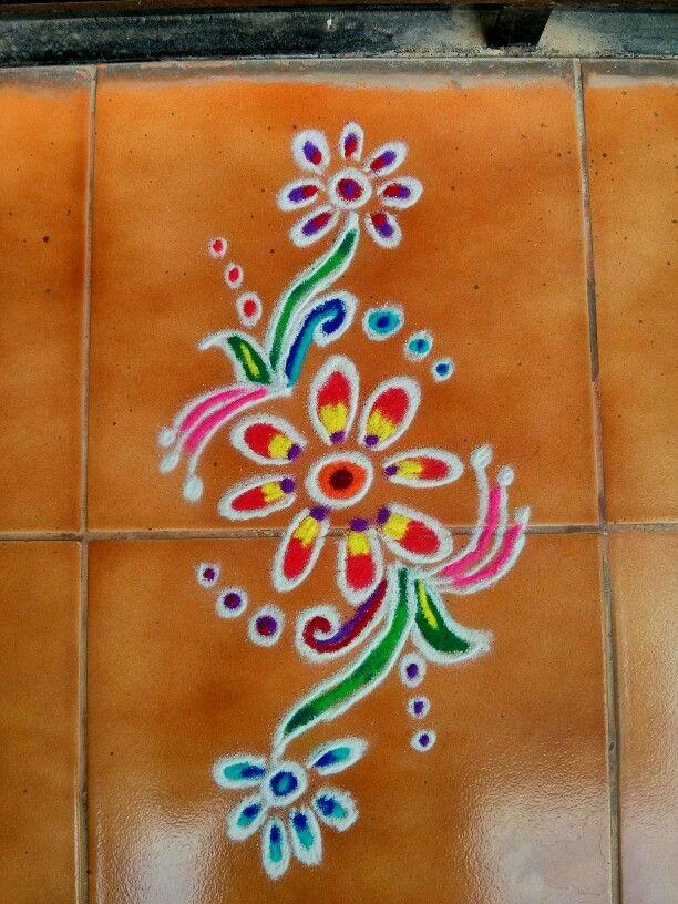 My rangoli :)