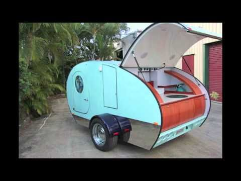 Gidget Teardrop Camper Shows Off New Features For 2015 | SF Globe.        So cute!!!