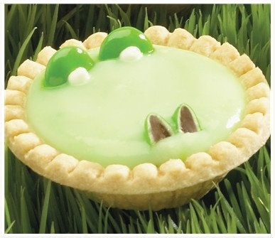 Alligator Pie is a tasty idea perfect for St. Patrick's Day dessert!