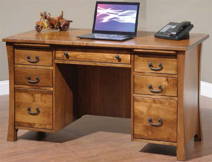 261 best Amish Executive Office Furniture images on Pinterest | L ...
