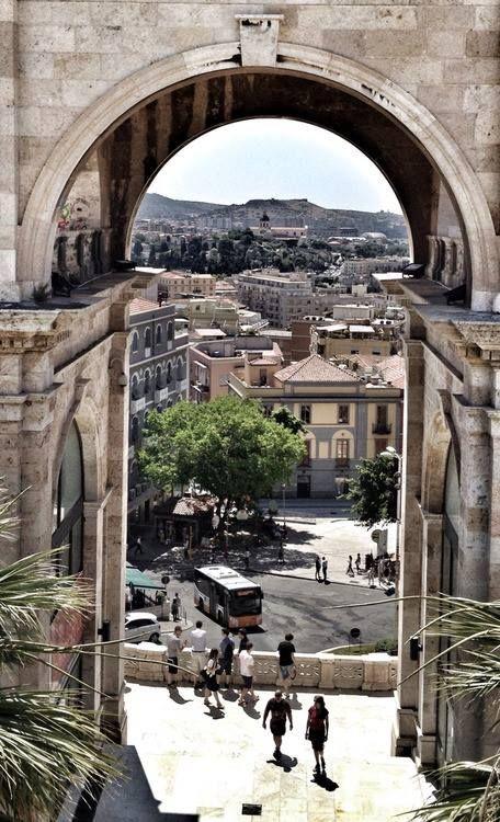 Cagliari vista dal Bastione