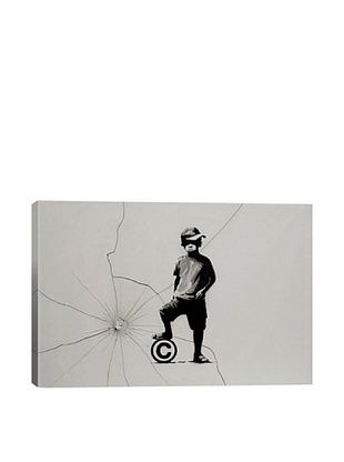 68% OFF Banksy Copyrights Are For Losers Canvas Print